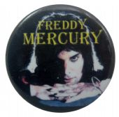 Queen - 'Freddie Glow' Button Badge